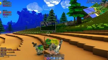 Новый геймплей Cube World