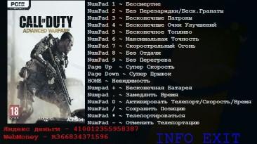 Call of Duty ~ Advanced Warfare: Трейнер/Trainer (+15) [1.0] {Aleksander D}