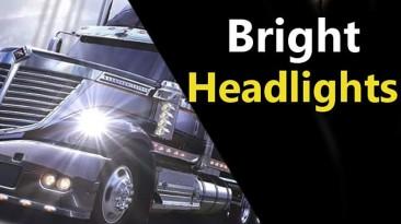"American Truck Simulator ""Более яркий свет фар для грузовиков (1.41.x)"""