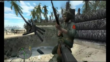 Сравнение графики - Call of Duty World at War PS2 vs PS3