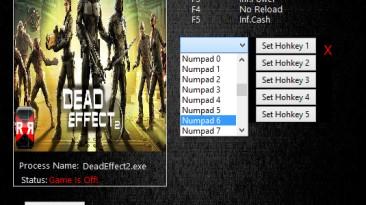 Dead Effect 2: Трейнер/Trainer (+8) [190401] {MrAntiFun}