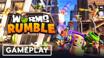 Игроки критикуют Worms Rumble. 11 минут игрового процесса