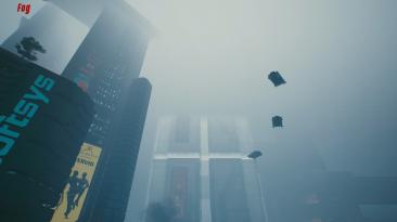"Cyberpunk 2077 ""Разнообразная погода"""