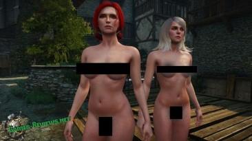 """Witcher 3: Wild Hunt """"женщины без одежды (18+)"""""""