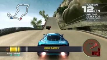 История серии игр Ridge Racer (1993-2016)