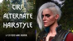 """Witcher 3 """"Цири в стиле Cyberpunk 2077"""""""