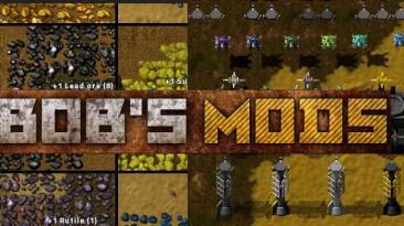 """Factorio """"Bob's mods 0.18.x"""""""