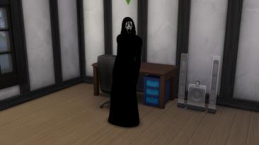 """Sims 4 """"Призрачное лицо из фильма Крик"""""""