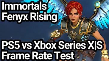 Immortals Fenyx Rising имеет заблокированное разрешение 4K на PS5 и динамическое 4K на Xbox Series X