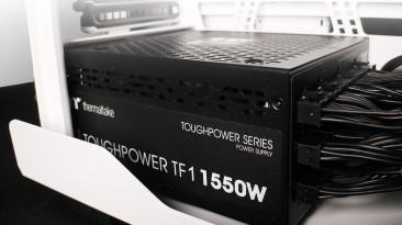 Компания Thermaltake представила блок питания Toughpower TF1 1550W - TT Premium Edition стандарта 80Plus Titanium
