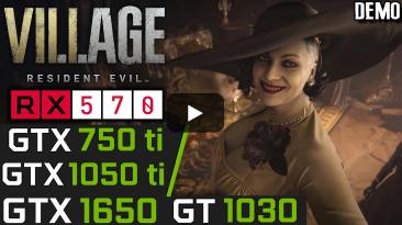 Resident Evil Village: появилось видео с тестами на самых слабых видеокартах