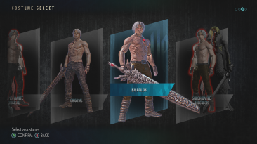"""Devil May Cry 5 """"DMC3 shirtless Dante style and DT"""""""