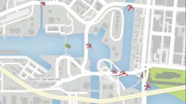 Grand Theft Auto 5 (GTA V): Сохранение/SaveGame (50 полётов под мостом)