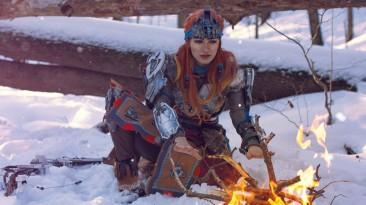 Приятная прохлада: Российская косплеерша великолепно перевоплотилась в Элой из Horizon Zero Dawn
