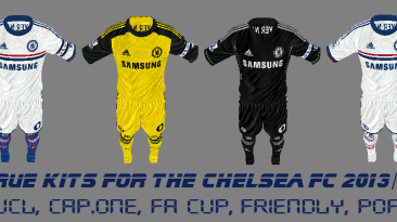 "FIFA 13 ""really true Chelsea full kitpack 2013-14 season"""