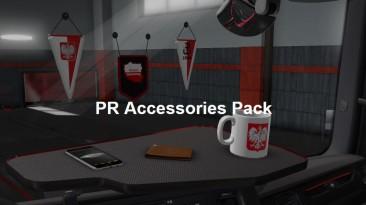 """Euro Truck Simulator 2 """"PR Accesories Pack v2.0 Польский пакет аксессуаров для салона"""""""