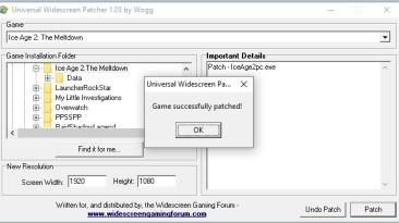 """Ice Age 2: The Meltdown """"Фикс для высокого разрешения экрана"""""""