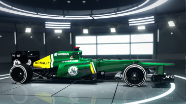 "F1 2012 ""Caterham CT03 2xHD"""