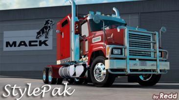 "American Truck Simulator ""Redd's Corner StylePak v2.1 для Mack CHU613 ATS 1.38.x"""
