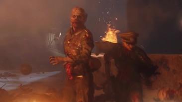 """Call of Duty: WWII - Трейлер зомби-карты """"Крестный путь"""" из дополнения United Front"""