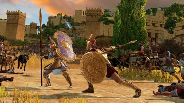 """Total War Saga: Troy """"Ускоренное повышение уровня"""""""