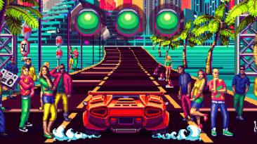 Примерная дата релиза и подробности игровых режимов ретро-гонок 80's Overdrive