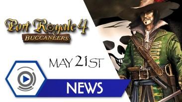 Морская стратегия Port Royale 4 обзавелась новым дополнением о пиратах