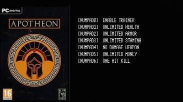 Apotheon: Трейнер/Trainer (+6) [v1.3] {LIRW / GHL}