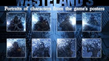 "Wasteland 3 ""Портреты персонажей обоев Wasteland 3 HD"""