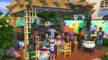 В анонсе патча для The Sims 4 опубликован рецепт бургера