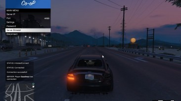"""Grand Theft Auto 5 """"Multiplayer Co-op 0.9"""""""