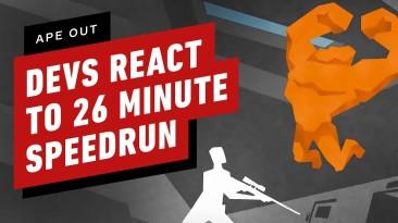 Реакция разработчиков Ape Out на спидран своей игры за 26 минут