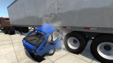 Видео обзор мода автомобиля ВАЗ 2109 LADA Спутник для игры BeamNG.drive