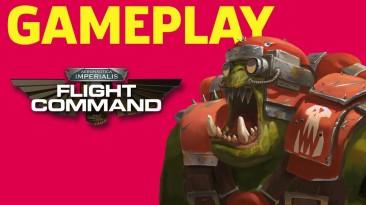 Видео геймплея Aeronautica Imperialis: Flight Command