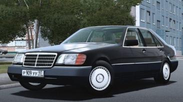 "City Car Driving ""Mercedes-Benz S350D Update (W140) (v1.5.9.2)"""