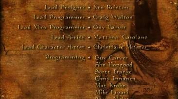 Титры - The Elder Scrolls III: Morrowind