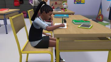 """The Sims 4 """"Квалифицированная домашняя работа для подростков и детей"""""""