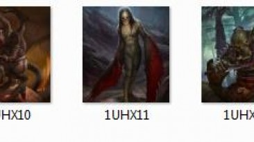 """Heroes of Might and Magic 3 """"Новые портреты героев для мода MOP"""""""