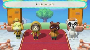 Большой трейлер Animal Crossing: amiibo Festival