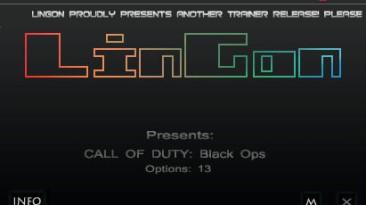 Call of Duty: Black Ops: Трейнер (+13) [1.12 - STEAM] {LinGon}