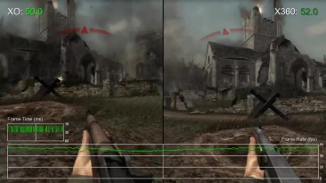 Call of Duty 3: сравнение производительности на Xbox 360 и Xbox One