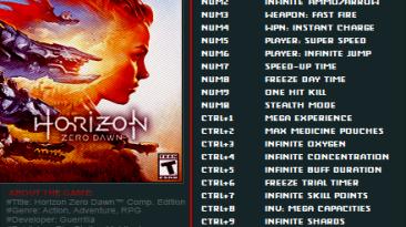 Horizon: Zero Dawn Трейнер/Trainer (+24) [v1.01] {FutureX}