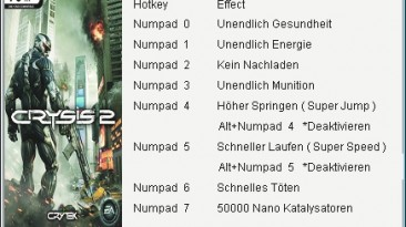 Crysis 2: Трейнер/Trainer (+7) [1.9] {GGHZ}