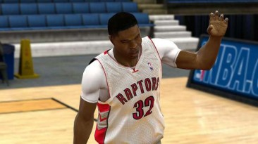 "NBA 2K10 ""Toronto Raptors 10-11 Jersey"""