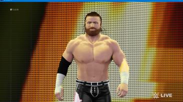 "WWE 2K16 ""Buddy Murphy Messiah Slayer Наряд (Лицевая анимация) WWE 2K19 Порт мод"""