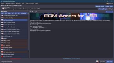 "Mass Effect Legendary Edition ""ME3Tweaks - менеджер модов"""