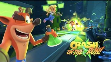 Крэш Бандикут теперь и на смартфонах. Crash Bandicoot: On the Run! выходит на iOS и Android