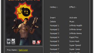 Serious Sam 2: Трейнер/Trainer (+8) [2.070] {Enjoy}