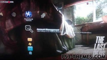 """The Last Of Us Dynamic """"Theme Ps3."""""""