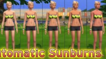 "The Sims 4 ""Мод на загар"""